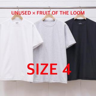 UNUSED - UNUSED × FRUIT OF THE LOOM 2pac Tee 4