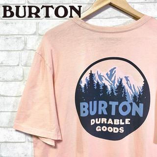 バートン(BURTON)のBURTON バートン ビッグシルエット T-Shirt マウンテンプリント(Tシャツ/カットソー(半袖/袖なし))