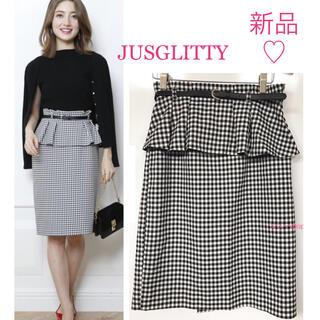 JUSGLITTY - 新品♡ ジャスグリッティー 2wayスカート