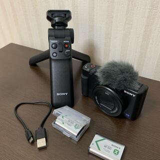 SONY - ソニー zv-1 グリップ付き 開封のみの未使用品
