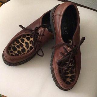ケービーエフ(KBF)のKBFハラコローファー(ローファー/革靴)