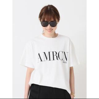 ドゥーズィエムクラス(DEUXIEME CLASSE)の新品タグ付き未開封 Deuxieme AMERICANA AMRCN Tシャツ(Tシャツ(半袖/袖なし))