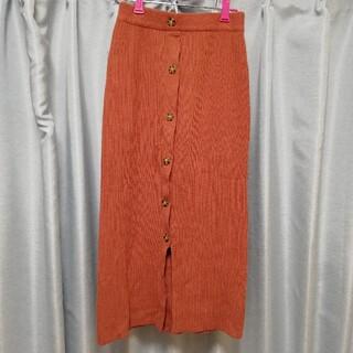 moussy - moussy リブタイトスカート