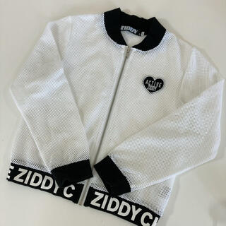 ジディー(ZIDDY)のジディ メッシュブルゾン 140(Tシャツ/カットソー)