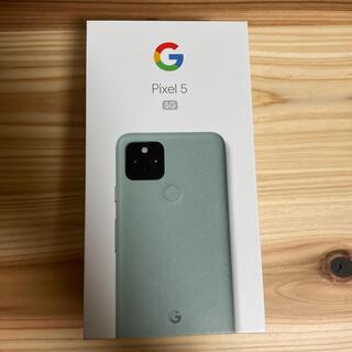 Google Pixel - 【新品】Pixel5 SIMロック解除済み