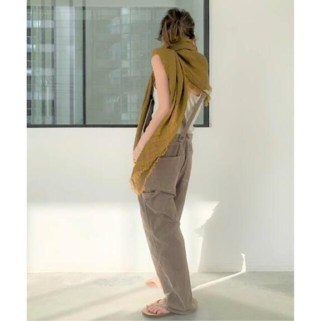 L'Appartement DEUXIEME CLASSE(アパルトモンドゥーズィエムクラス)のMAISON DE VACANCES リネンストール アパルトモン レディースのファッション小物(ストール/パシュミナ)の商品写真
