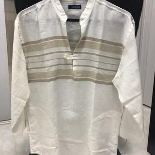 ZARA - ZARA ザラ 麻素材 七分袖 Lサイズ