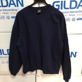 GILDAN - GILDANギルダンのトレーナー★ネイビーXL紺★日祝以外即日発送16時〆