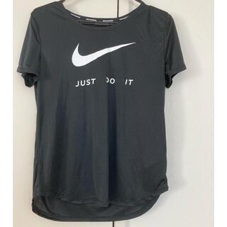 NIKE - 新品未使用 ナイキポリエステル100% ランニングTシャツ 黒 M