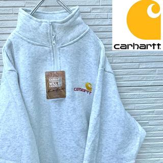 carhartt - 【新品タグ付き】Carhartt トレーナー XXL ハーフジップ グレー