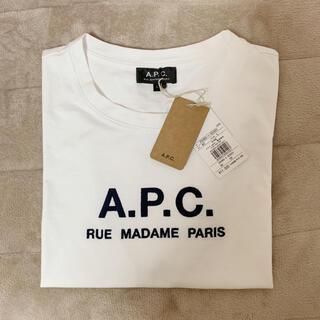 アーペーセー(A.P.C)のAPC ロゴTシャツ Lサイズ(Tシャツ(半袖/袖なし))