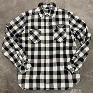 ヴァンズ(VANS)の値下げ VANS ブロックチェック 長袖シャツ ワッペン付き(シャツ)