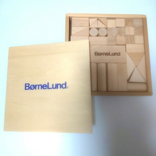 BorneLund - ☆美品☆bornelund ボーネルンド 積み木 白木 知育玩具 除菌清掃済み♪