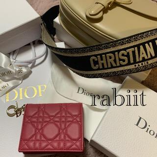 Dior - DIOR  LADY DIOR ミニウォレット カナージュ未使用品❤️