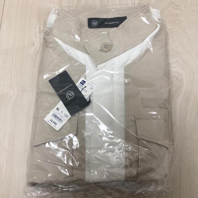 UNDERCOVER(アンダーカバー)のGU アンダーカバー ミリタリージャケット XL メンズのジャケット/アウター(ミリタリージャケット)の商品写真