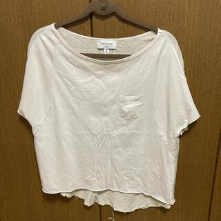 アメリカーナ(AMERICANA)のアメリカーナ 半袖Tシャツ(Tシャツ(半袖/袖なし))