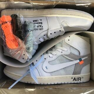 OFF-WHITE - 26cm Off White x Air Jordan 1 AQ0818-100