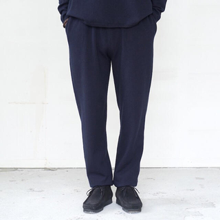 COMOLI - walenode Cotton cashmere Sweatpants