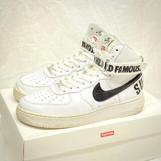 Supreme - SUPREME AIRFORCE1 HIGH 2014