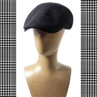 オーバーライド(override)の新品/CASTANOカスターノ ハンチング帽/ハンチング帽子/ハンチングキャップ(ハンチング/ベレー帽)