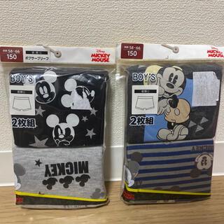 Disney - 【新品】ミッキー  ボクサーパンツ 4枚 150