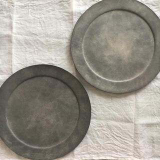 【稀少】吉田次朗 リムプレート 平皿 2枚セット 新品未使用