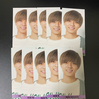 Myojo 6月号 キンプリ 永瀬廉 Smileメッセージカード(アイドルグッズ)