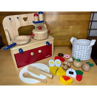 ファミリア(familiar)のfamiliar ファミリア キッチンセット(知育玩具)