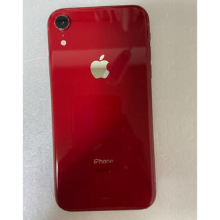 iPhone - iPhone XR Red 64 GB Simフリー