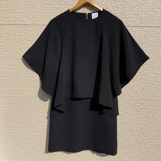 ADORE - 美品 αA アルファエー ワンピース 黒 ブラック 36