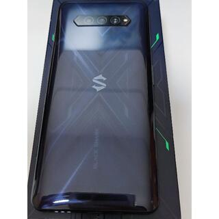Black Shark4 8GB/128GB ブラック(模様入り) 中国版