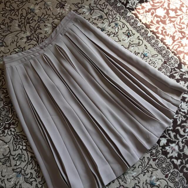 Rope' Picnic(ロペピクニック)の膝丈スカート プリーツ フレア2枚組 レディースのスカート(ひざ丈スカート)の商品写真