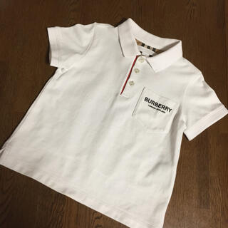 バーバリー(BURBERRY)のバーバリー  チルドレン  ポロシャツ  3Y  100(ブラウス)