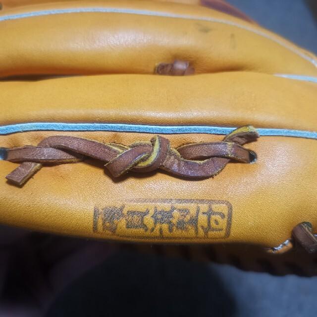 アトムズ 浦上レザー辻トジ 硬式 内野用グローブ スポーツ/アウトドアの野球(グローブ)の商品写真