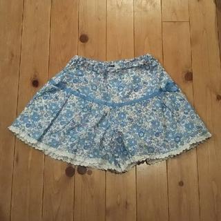 ポンポネット(pom ponette)のキュロット スカート 140 ポンポネット☆美品☆(パンツ/スパッツ)