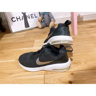 NIKE - NIKE スニーカー 靴紐なしタイプ 17.5cm