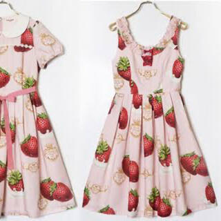 Emily Temple cute - creamy strawberry JSK