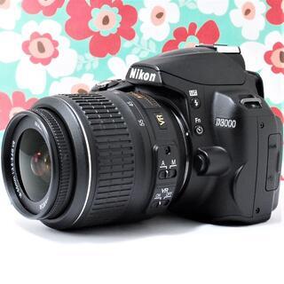 Nikon - ❤️初心者でも使いこなせる一眼レフ❤Nikon D3000❤️スマホに送れる❤