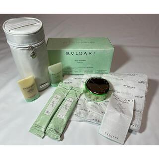ブルガリ(BVLGARI)の新品未使用■ブルガリ オパフメ トラベルコレクション ポーチ 香水 セット(その他)