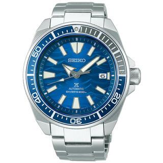 セイコー(SEIKO)のセイコー プロスペックス サムライ セイブジオーシャン SBDY029 ブルー(腕時計(アナログ))