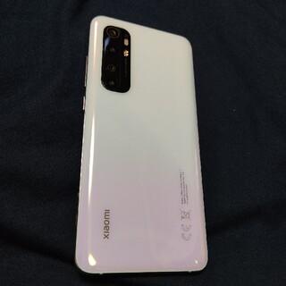 Xiaomi mi note10 lite 128GB 白
