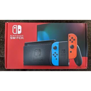 任天堂 - 【中古】Nintendo Switch 新型本体 ネオン ニンテンドースイッチ