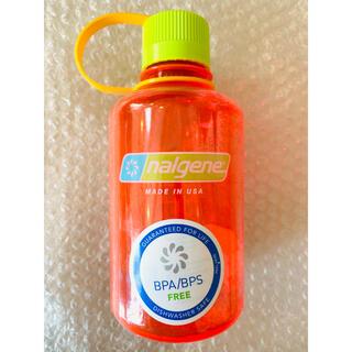 ナルゲン(Nalgene)のナルゲン ナローマウスボトル 500ml ポムグラネイト 新品未使用(登山用品)