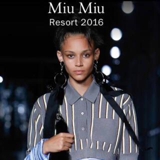 ミュウミュウ(miumiu)の(お値段交渉受付ます)miumiu ミュウミュウ 新品未使用 ソックス(ソックス)