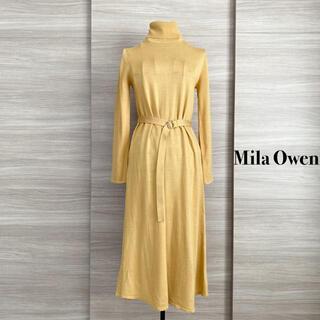 Mila Owen - MilaOwen ミラオーウェン  ニットワンピース タートルワンピース