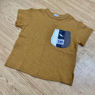 BREEZE - BREEZE Lee Tシャツ マスタードイエロー からし色 110cm