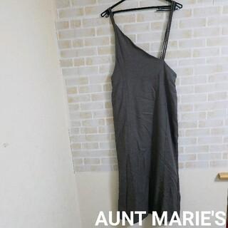Aunt Marie's - アシメントリー サロペット
