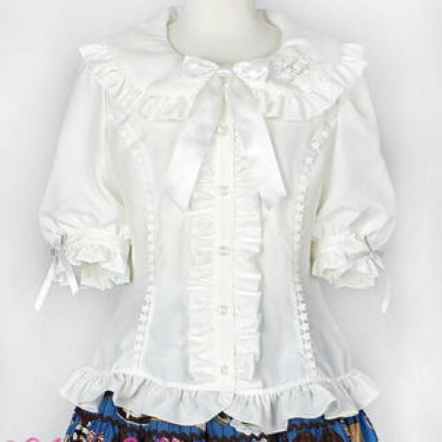 Angelic Pretty(アンジェリックプリティー)の新品未使用♡アンジェリックプリティ すやすやTOYSシリーズ ブラウス レディースのトップス(シャツ/ブラウス(半袖/袖なし))の商品写真