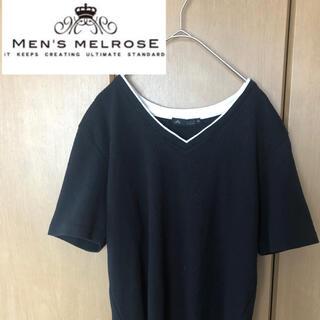 メンズメルローズ(MEN'S MELROSE)のメンズメルローズ 半袖トップス(Tシャツ/カットソー(半袖/袖なし))