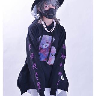 アンコロック(ankoROCK)の『東京裏側』SICKNESS BEAR ビッグパーカー(男女兼用)(パーカー)